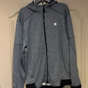 Champion Sports Zip Up Hoodie Size Large